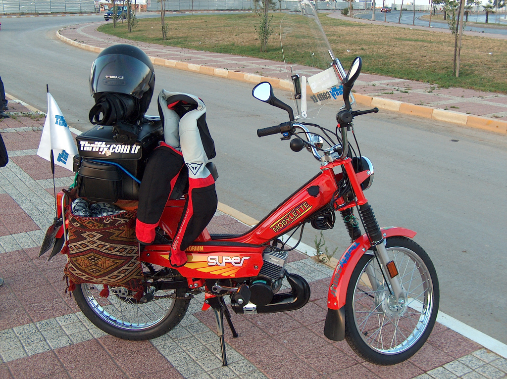 Mobylette İle İstanbul-Bodrum-İstanbul 1500km